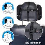 Rétroviseur intérieur pour bébés - Autown - Miroir pour siège auto - Réglable - Pivote à 360 ° - Taille 300 x 190 x2,8mm de la marque AUTOWN image 4 produit