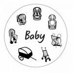SANDINI SleepFix® Baby - Coussin bébé/ Oreiller de cou offrant soutien - Accessoires pour voiture/ vélo/ voyage - DIFFÉRENTES COULEURS - Conçu en Allemagne/ Fabriqué en EU de la marque SANDINI image 4 produit