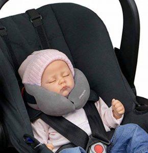 SANDINI SleepFix® Baby - Coussin bébé/ Oreiller de cou offrant soutien - Accessoires pour voiture/ vélo/ voyage - DIFFÉRENTES COULEURS - Conçu en Allemagne/ Fabriqué en EU de la marque SANDINI image 0 produit