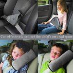 Sangle de ceinture de sécurité, Housse Infreecs enfants Safety Car Ceinture de sécurité Coussinets d'épaule Coussin support de cou avec clip de ceinture de sécurité de la marque INFREECS image 1 produit