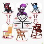Sangles de chaise haute, chaise haute universel pour ceinture de sécurité/Sangles/Harnais/de remplacement pour chaise haute En Bois Poussette de bébé (Ceinture de sécurité 5points) de la marque Yworld image 4 produit