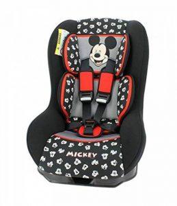 Siège auto Disney Groupe 0+/1 de 0 à 18 kg - Fabrication 100% Française - 3 étoiles Test TCS - 7 personnages - Cale tête et assise rembourrés. de la marque Mycarsit image 0 produit