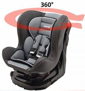 Siège auto pivotant 360° et inclinable 4 positions Made in France groupe 0+ / 1 (0-18kg) - 4 couleurs de la marque Mycarsit image 0 produit