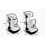 Siège AUTO pour BÉBÉ/ENFANT avec système ISOFIX - modèle EXPANDER - capacité de charge 15-36 kg, groupe 2 3 de la marque KINDERKRAFT image 4 produit