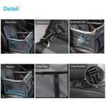 Siège d'appoint de voiture pour chats de chats, housse de siège imperméable respirante avec laisse de sécurité, petit sac de transporteur de voiture de voyage de chiot de chien par Zellar de la marque Zellar image 3 produit