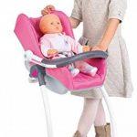 Smoby 240227 - Bébé Confort - Chaise Haute 3 en 1 - Chaise Haute Balancelle et Siège Auto de la marque Smoby image 1 produit