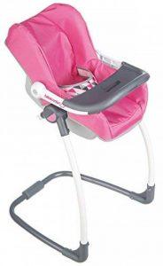 Smoby 240227 - Bébé Confort - Chaise Haute 3 en 1 - Chaise Haute Balancelle et Siège Auto de la marque Smoby image 0 produit