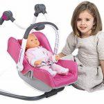 Smoby 240227 - Bébé Confort - Chaise Haute 3 en 1 - Chaise Haute Balancelle et Siège Auto de la marque Smoby image 2 produit
