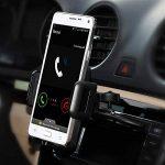 Support fente CD universel pour téléphone portable Mpow Grip Pro 2 Support universel fente CD montable avec une simple pression, rotation à 360degrés, 5tests différents sur socle de voiture pour iPhone 6/6Plus/5/5S, Samsung Galaxy S5/S6, Note 3/4/5, HT image 1 produit