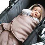 WALLABOO Babynomade Nid d'Ange Coco Couverture Enveloppante Réversible de la marque Wallaboo image 1 produit