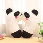 WYSMOL Animaux Mignons Oreiller de Voyage Coussin Camping Ergonomiques pour la Nuque, Panda de la marque WYSMOL image 1 produit