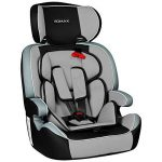 XOMAX XM-K3 + Siège auto pour enfants + Groupo I / II / III (9-36 kg) + selon la norme ECE R 44/04 + la couleur noir/gris + Ceintures à 5-points siège standard + Repose-tête réglable + Siège pour la classe III + Le dossier et amovible de la marque XOMAX image 1 produit