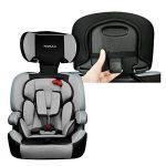 XOMAX XM-K3 + Siège auto pour enfants + Groupo I / II / III (9-36 kg) + selon la norme ECE R 44/04 + la couleur noir/gris + Ceintures à 5-points siège standard + Repose-tête réglable + Siège pour la classe III + Le dossier et amovible de la marque XOMAX image 4 produit