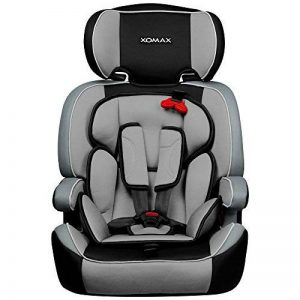 XOMAX XM-K3 + Siège auto pour enfants + Groupo I / II / III (9-36 kg) + selon la norme ECE R 44/04 + la couleur noir/gris + Ceintures à 5-points siège standard + Repose-tête réglable + Siège pour la classe III + Le dossier et amovible de la marque XOMAX image 0 produit