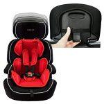 XOMAX XM-K5 + Siège auto pour enfants + Groupo I / II / III (9-36 kg) + selon la norme ECE R 44/04 + la couleur rouge/noir/gris + Ceintures à 5-points siège standard + Repose-tête réglable + Siège pour la classe III + Le dossier et amovible de la marque X image 3 produit