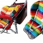 Ywoworld bébé Poussette/voiture/chaise haute Coussin d'assise Liner Mat Pad Housse de protection arc-en-ciel à rayures respirant résistant à l'eau de la marque Ywoworld image 2 produit
